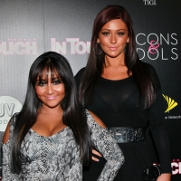 "Nicole ""Snooki"" Polizzi and Jenni ""JWOWW"" Farley attend In Touch Weekly's annual 'Icons & Idols' celebration at Bar Marmont in West Hollywood, Calif. on September 12, 2010"