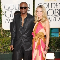 Seal and Heidi Klum arrives at the 68th Annual Golden Globe Awards held at The Beverly Hilton hotel, Beverly Hills, January 16, 2011