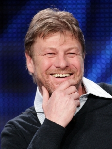 "Sean Bean speaks during the ""Game of Thrones"" panel at the HBO portion of the 2011 Winter TCA press tour held at the Langham Hotel, Pasadena, January 7, 2011"