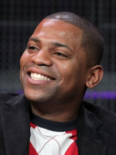 "Mekhi Phifer speaks during the ""Torchwood: The New World"" panel at the Starz portion of the 2011 Winter TCA press tour held at the Langham Hotel, Pasadena, January 7, 2011"