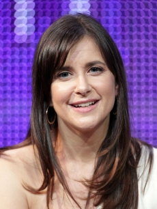 "Kellie Martin speaks during the ""Smooch"" panel at the Hallmark Movie Channel portion of the 2011 Winter TCA press tour held at the Langham Hotel, Pasadena, January 7, 2011"