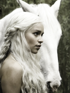 Emilia Clarke as Daenerys Targaryen in &#8220;Game of Thrones,&#8221; 2011