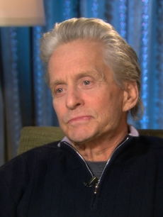 Billy Bush interviews Michael Douglas for Access Hollywood, Jan. 9, 2011