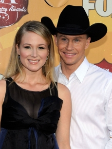 Jewel and Ty Murray arrive at the American Country Awards 2010 held at the MGM Grand Garden Arena in Las Vegas on December 6, 2010