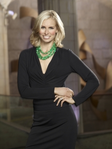 "Niki Taylor in her cast shot for ""The Celebrity Apprentice,"" 2011"
