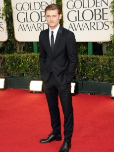 Alex Pettyfer arrives at the 68th Annual Golden Globe Awards held at The Beverly Hilton hotel in Beverly Hills on January 16, 2011