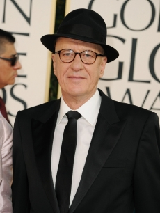 Geoffrey Rush arrives at the 68th Annual Golden Globe Awards held at The Beverly Hilton hotel in Beverly Hills on January 16, 2011