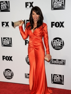 Katey Sagal arrives at the Fox Searchlight 2011 Golden Globe Awards Party held at The Beverly Hilton hotel on January 16, 2011