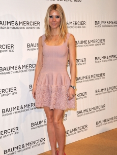 Gwyneth Paltrow attends the Baume & Mercier Gala Evening for 21st SIHH High Jewellry Fair in Geneva, Switzerland on January 17, 2011
