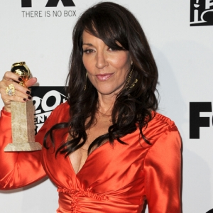 Katey Sagal &#8216;Grateful To Be Acknowledged&#8217; At The 2011 Golden Globes