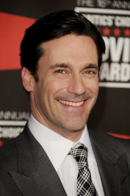 Jon Hamm arrives at the 16th Annual Critics' Choice Movie Awards at the Hollywood Palladium, Los Angeles, January 14, 2011