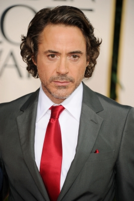 Robert Downey Jr. arrives at the 68th Annual Golden Globe Awards held at The Beverly Hilton hotel on January 16, 2011 in Beverly Hills,