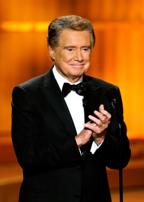 Regis Philbin speaks onstage at the 37th Annual Daytime Entertainment Emmy Awards held at the Las Vegas Hilton in Las Vegas on June 27, 2010