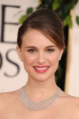 Natalie Portman arrives at the 68th Annual Golden Globe Awards held at The Beverly Hilton hotel on January 16, 2011 in Beverly Hills