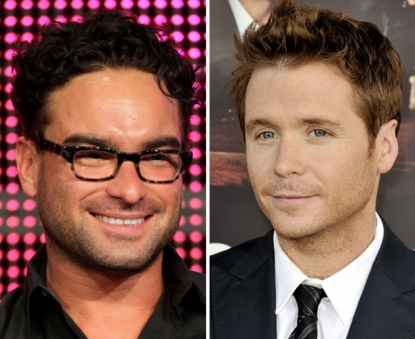 Johnny Galecki, Kevin Connolly