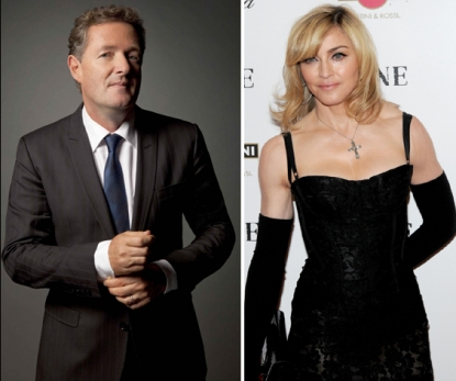 Piers Morgan, Madonna