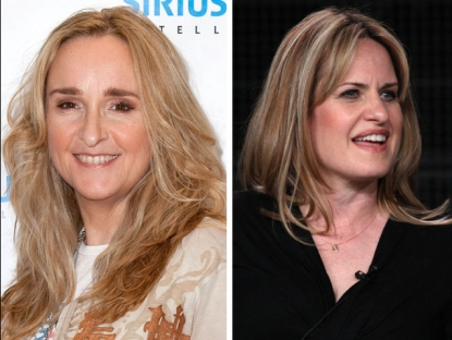 "Melissa Etheridge and ""Nurse Jackie"" creator Linda Wallem"