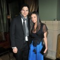 "Ashton Kutcher and Demi Moore attend the after party for the Cinema Society's screening of ""No Strings Attached"" at the Soho Grand Hotel in NYC, on January 20, 2011"