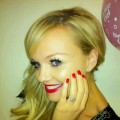 Emma Bunton's TwitPic of her engagement ring (Jan. 2011)