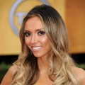 Giuliana Rancic arrives at the 17th Annual Screen Actors Guild Awards held at The Shrine Auditorium, Los Angeles, January 30, 2011