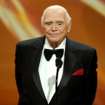 Ernest Borgnine accepts the Lifetime Achievement Award during the 17th Annual Screen Actors Guild Awards held at The Shrine Auditorium on January 30, 2011