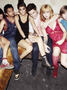 "The cast of MTV's ""Skins"""