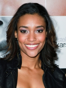 "Annie Ilonzeh attends the premiere of ""Frankie and Alice"" at the Egyptian Theatre on November 30, 2010 in Hollywood"