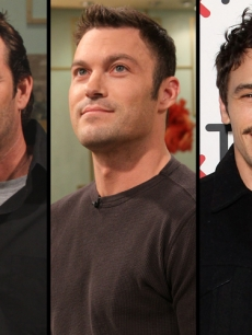 Luke Perry, Brian Austin Green, James Franco