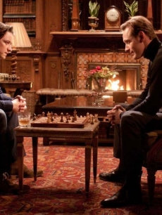 James McAvoy and Michael Fassbender star as Professor X and Magneto in &#8220;X-Men: First Class&#8221;