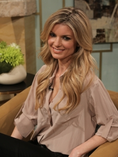 Supermodel Marisa Miller visits the set of Access Hollywood Live on January 27, 2011