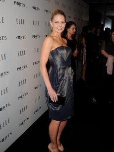 Jennifer Morrison arrives at ELLE Women In Television event at Soho House on January 27, 2011 in West Hollywood, California.