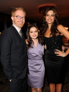 jJesse Tyler Ferguson, Ariel Winter and Sofia Verara attend ELLE Women In Television event at Soho House in West Hollywood, Calif. on January 27, 2011