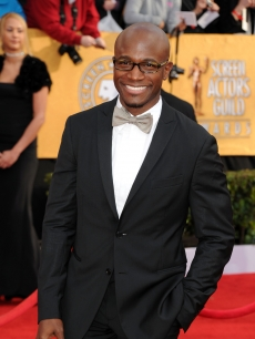 """Private Practice"" hunk Taye Diggs arrives at the 17th Annual Screen Actors Guild Awards held at The Shrine Auditorium, Los Angeles, January 30, 2011"