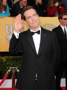 &#8220;The Office&#8217;s&#8221; Ed Helms arrives at the 17th Annual Screen Actors Guild Awards held at The Shrine Auditorium, Los Angeles, January 30, 2011