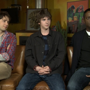 2011 Sundance Film Festival: Freddie Highmore Works On His 'Homework'
