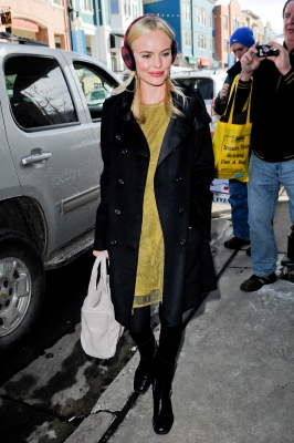 Kate Bosworth is spotted out &amp; about at the Sundance Film Festival in Park City, Utah, on January 24, 2011