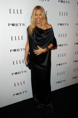 Rachel Zoe arrives at the ELLE Women In Television event at Soho House in West Hollywood, Calif. on January 27, 2011
