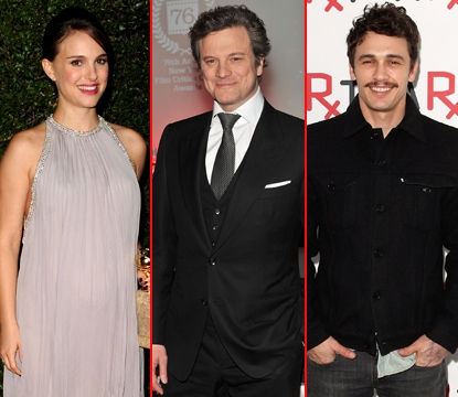Natalie Portman/Colin Firth/James Franco