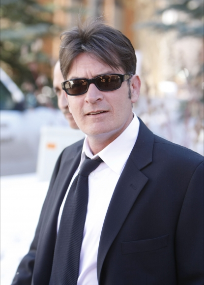 Charlie Sheen attends his court appearance in Aspen, Colo., March 15, 2010