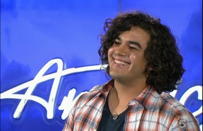 "Chris Medina auditions in Milwaukee on ""American Idol,"" Jan. 26, 2011"