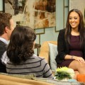 Tia Mowry chats with Billy Bush and Kit Hoover on Access Hollywood Live on January 31, 2011