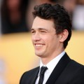 James Franco arrives at the 17th Annual Screen Actors Guild Awards held at The Shrine Auditorium in Los Angeles on January 30, 2011