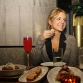 Ali Fedotowsky was spotted dining with her closest friends at the Lower East Side hot spot Beauty & Essex on February 2, 2011.