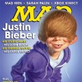 Alfred E. Neuman dons a Justin Bieber 'do on the cover of MAD Magazine's Feb. 16, 2011 issue