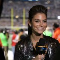 Maria Menounos is set for the big game at Super Bowl XLV in Dallas, Texas, on February 6, 2011