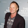 "Sting arrives at the ""The Next Three Days"" Australian premiere in Sydney, Australia on January 30, 2011"