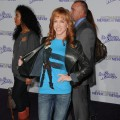"Kathy Griffin arrives at the premiere of Paramount Pictures' ""Justin Bieber: Never Say Never"" held at Nokia Theater L.A. Live, Los Angeles, February 8, 2011"