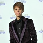 Justin Bieber arrives at the premiere of &#8220;Never Say Never&#8221; held at Nokia Theater L.A. Live in Los Angeles on February 8, 2011