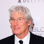 Richard Gere steps out in a classy suit at the amfAR New York Gala to kick off Fall 2011 Fashion Week in New York City on February 9, 2011