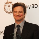 """The King's Speech"" star Colin Firth is all smiles after winning his Actor of the Year Award at The London Critics' Circle Film Awards 2011 in London on Febuary 10, 2011"